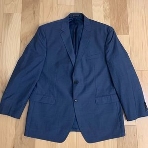Perry Ellis Blue Slim Fit Blazer
